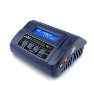 Skyrc Digital Lipo Lithium Nimh Battery Balance Charger Sk-100149 E680 Ac/Dc 8A