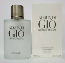 Giorgio Armani Acqua Di Gio 100ml / 3.4 oz Men's Eau de Toilette New