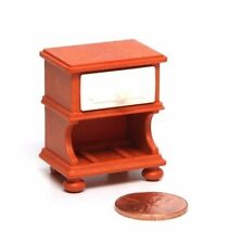 "Playmobil Victorian Dollhouse Bedroom Brown ""Wood"" Nightstand Furniture 5319"