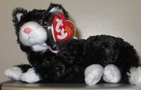Ty Beanie Baby ~ BOOTIES the Black & White Cat ~ MINT with MINT TAGS ~ RETIRED