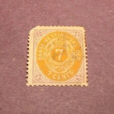 Danish West Indies Stamp Scott# 9  Coat of Arms 1874-79  C170