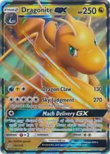 Pokemon - Dragonite Gx - 152/236 - Ultra Rare - Unified Minds - Nm/M