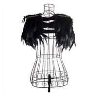 Feather Fringe Jazz Shawl Collar Cape Wrap Evening Party Clothes Accessories NEW
