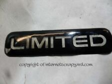 """Jeep Grand Cherokee WJ 3.1 99-04 """"limited"""" limited logo badge"""