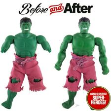 Mego Hulk Body Reproduction For 8� Action Figure Wgsh Custom Parts Lot