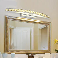 New Bathroom LED Crystal Mirror Front Lamp Wall Fixture Make-up Lights Lamp