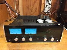 McIntosh MC-2505 Amplifier - Classic Blue Meters & Tube Like Sound - Excellent!