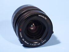Minolta AF 35-80mm Lente Zoom f/4-5.6 * Sony * cerca de nuevo, sin usar Alpha A