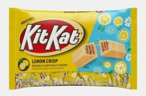 NEW Kit Kat Lemon Crisp Limited Edition Easter Candy 9oz Bag Individual 3/22