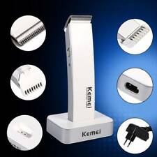 Mens Pro Cordless Electric Rechargeable Hair Clipper Trimmer Shaver Beard Razor&