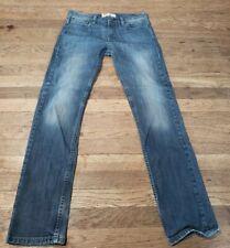 Levis 511 Mens Boys Slim Fit Jeans Size 30 x32  Blue Denim