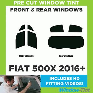 Pre Cut Window Tint - Fiat 500X 2016 Full Kit