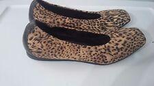 Donald J Pliner Italian Made Leopard Cheetah Print Ballet Flats Size 7 1/2M