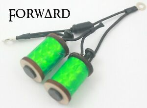 """1.25"""" 8-32 Tattoo Machine Parts Coils 8 Wrap Wood Washers Lime Prism Forward USA"""