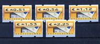 Bund ATM 5.1 VS 2 sauber postfrisch Automatenmarken BRD Briefkasten MNH