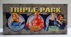 FANTASTIC FOUR Triple Pack Mini Bust Marvel Bowen Quatre Fantastiques NEUF NEW