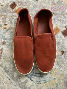 Tory Burch Max Slip On Sneaker Suede Size Women 10.5