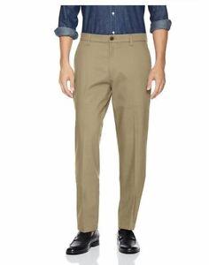 Dockers Classic Fit Signature Khaki Lux Stretch Pants, TimberWolf, 31x32 Box D