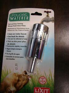 Lixit Metal Faucet Waterer