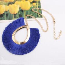 Vintage New Boho Tassel Pendant Necklace Women Long Sweater Chain Jewelry NEW