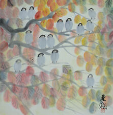 Excellent Chinese Scroll Painting  By Lin Fengmian P209 林风眠