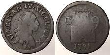 9 Cavalli 1791 P Ferdinando IV Regno di Napoli Naples #6218