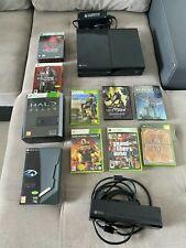 Console Microsoft Xbox One 500 Go Noire plus jeux et camera