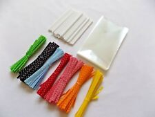 8.9cm-19cm 50 Yellow Lolly or Cake Pop Sticks for Baking Crafts