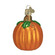 Old World Christmas Pumpkin (28046)X Glass Ornament w/ Owc Box