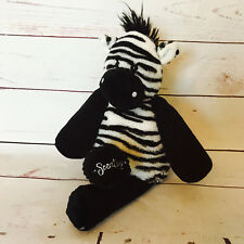 Scentsy Buddy ZUKU THE ZEBRA Plush WITH Scent Pak Stuffed Animal Retired Black