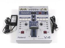 Roland Four Channel V-4 Audio Video Mixer Switcher V4 NTSC / PAL