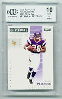 2007 (2006) Playoff Previews #P2 Adrian Peterson Rookie BCCG 10