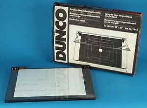 Dunco 30X40cm 2046 Belichtungsrahmen mit Glasplatte Enlarging Easel 13293