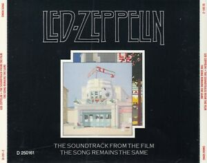 Led Zeppelin - Song Remains The Same 2CD EARLY PRESS SS 201-2 BMG