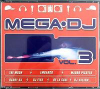 Compilation 4xCD Mega DJ Vol.3 - France (VG+/M)