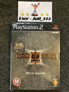 Playstation 2 Game: God Of War II Special Edition (Superb Factory Sealed) UK PAL