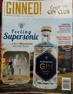 GINNED! MAGAZINE April 2018 Volume 42 Excellent Condition