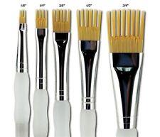 Royal and Langnickel Aqualon Wisp Flat Brush Set (pack of 5)