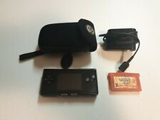 Nintendo OXY001 Game Boy Micro Handheld System - Black with Pokemon FireRed