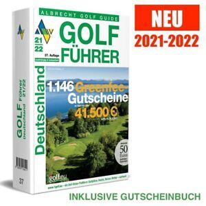 neu | ALBRECHT GOLF FÜHRER DEUTSCHLAND | 2021-2022 | 21-22