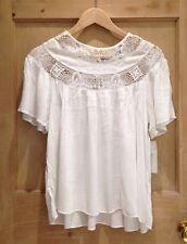 Zara Hip Length Party Regular Size Tops & Shirts for Women