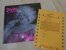 "Divine – Shake It Up  1983 12"""
