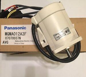 🌟 Panasonic Minas MQMA012A3F AC Servo Motor MQMA A4 Series **U.S. SELLER**
