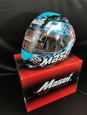 NEW Masei 833 Blue Monster Full Face Motorcycle Harley Helmet Free Shipping L/XL