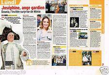 Coupure de presse Clipping 2012 (1 page 1/3 ) Josephine Ange Gardien Mimie mathy
