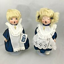 The Little Choir Singers Dolls By Shirley Favela Porcelain Dolls 1292 of 2000