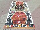 "Area Rug 5x9, Vintage Turkish Kilim Rugs, Large Rug, Antique Rug 50""x104"" Carpet"