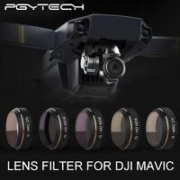 PGY ND4+ND8+ND16+UV+CPL Filter Objektivschutz +Tasche Schwarz Für DJI Mavic Pro
