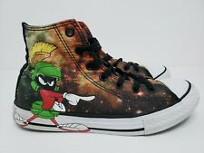 CONVERSE ALL STAR LOONEY TUNES MARVIN THE MARTIAN, YOUTH SIZE 3