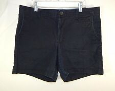 Dockers Womens Casual Active Shorts Blue Size 8 Regular
